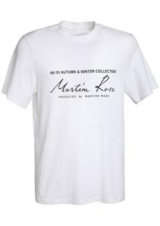 Martine Rose Classic Logo Print Cotton T-shirt