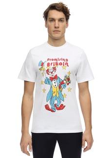 Martine Rose Clown Artwork Print Jersey T-shirt