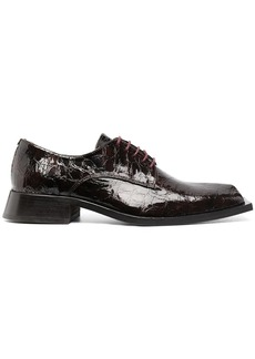 Martine Rose Daab embossed lace-up shoes