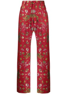 Martine Rose dragon print trousers