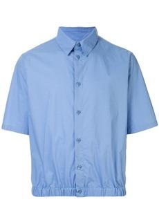 Martine Rose elasticated-hem shirt