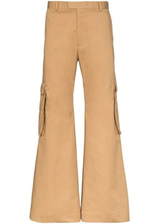 Martine Rose flared cargo trousers