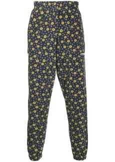 Martine Rose floral print fleece track pants