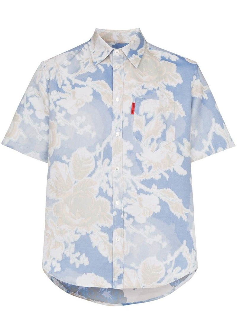 Martine Rose flower-print shirt