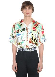 Martine Rose Hawaiian Print Viscose Shirt