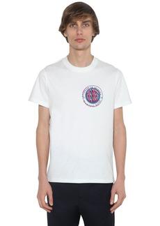Martine Rose Inverted Print Cotton Jersey T-shirt