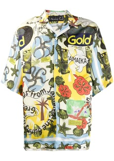 Martine Rose Jamaika hawaiian shirt