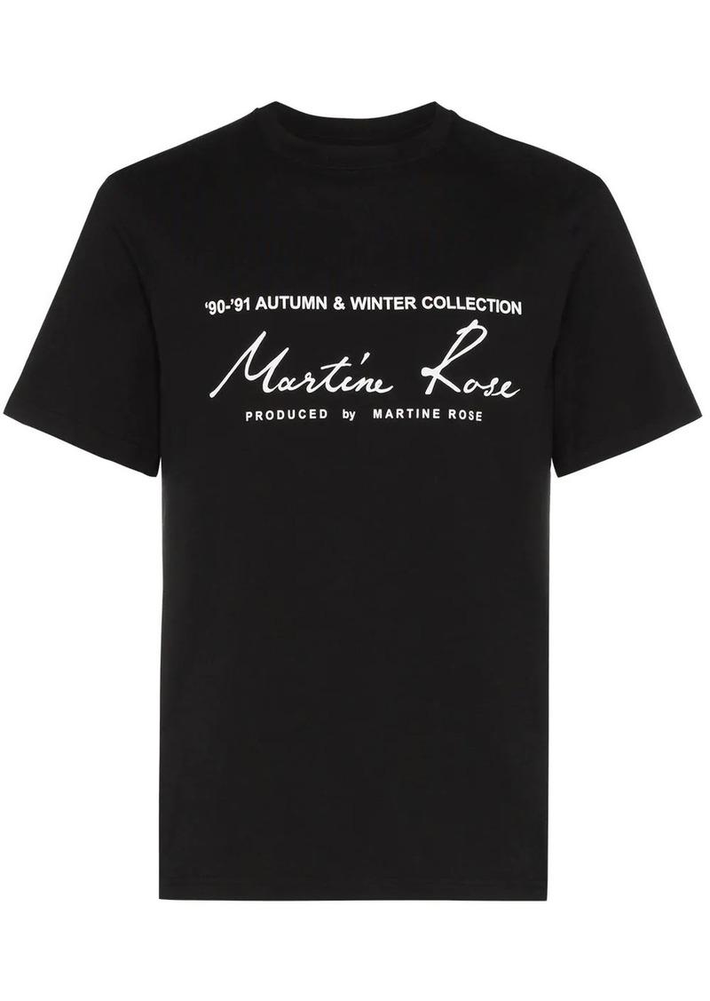Martine Rose logo-print T-shirt
