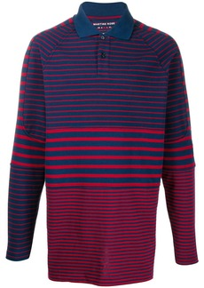 Martine Rose loose-fit striped polo shirt