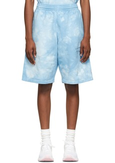 Martine Rose Blue Dye Barambo Shorts