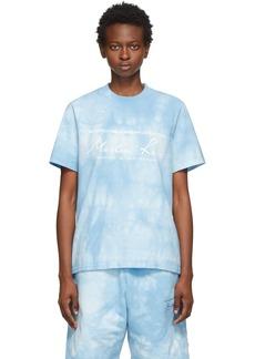 Martine Rose Blue Dye Classic T-Shirt