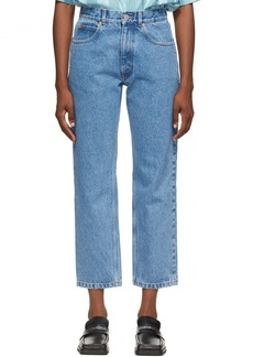Martine Rose Blue Maynard Jeans