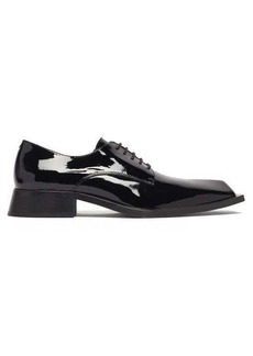 Martine Rose Daab square-toe patent-leather Derby shoes