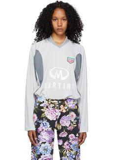 Martine Rose Grey Revels Long Sleeve T-Shirt