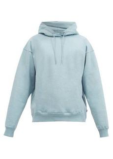 Martine Rose Logo-print cotton-jersey hooded sweatshirt