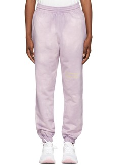 Martine Rose Purple Dye Slim Lounge Pants