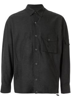 Martine Rose multi-pocket badge shirt