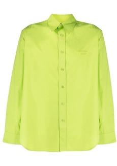 Martine Rose pointed-collar cotton shirt