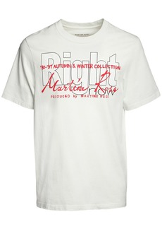 Martine Rose Right Printed Cotton T-shirt