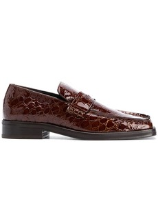 Martine Rose Roxy croc effect loafers