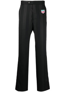 Martine Rose striped virgin-wool track pants