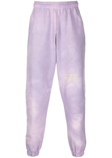 Martine Rose tie dye-print cotton track trousers