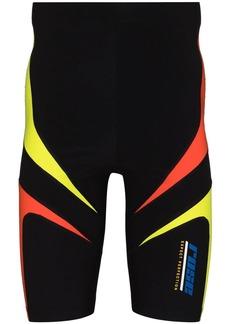 Martine Rose Trebor panelled cycling shorts