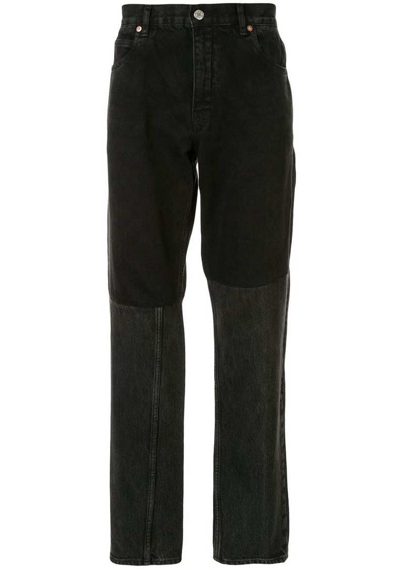 Martine Rose two-piece jeans