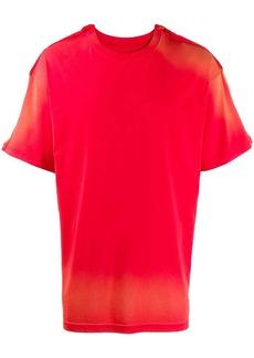 Martine Rose two tone T-shirt