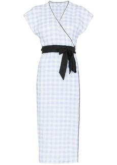 Marysia Coopers check midi dress