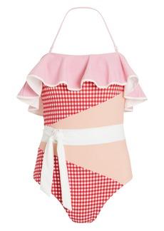 Marysia Greenport One Piece Gingham Swimsuit