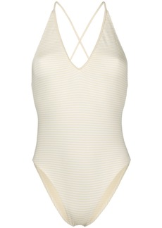 Marysia crossover strap swimsuit
