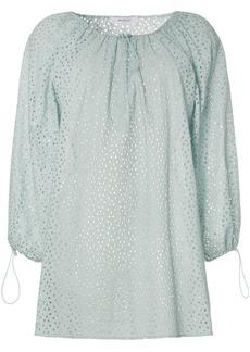 Marysia Moab off-the-shoulder cotton mini dress