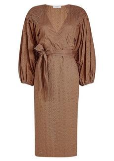 Marysia Pink Sands Wrap Dress