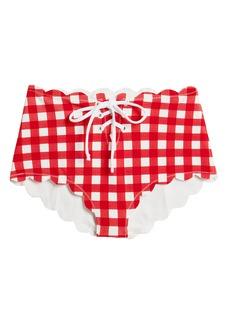 Marysia Riviera Lace Up Bikini Bottoms