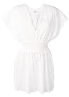 Marysia shirred waist dress