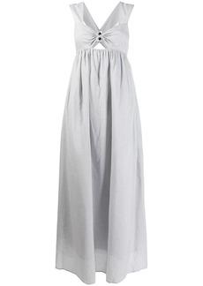 Marysia sleeveless flared dress