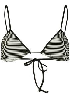 Marysia striped bikini top