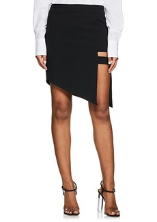 Mason by Michelle Mason Women's Cage Asymmetric Miniskirt