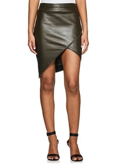 Mason by Michelle Mason Women's Embellished Leather Miniskirt