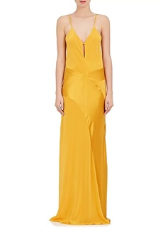 Mason by Michelle Mason Women's Silk Bias-Cut Gown