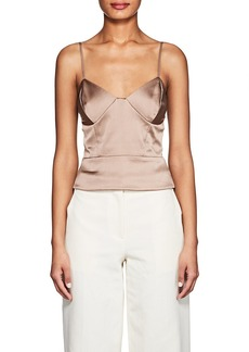 Mason by Michelle Mason Women's Stretch-Silk Satin Slip Cami