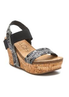 Beach By Matisse Women's Point Break Wedge Women's Shoes