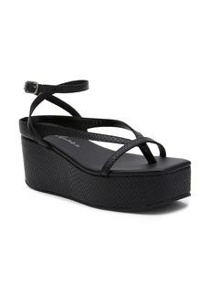 Matisse Eternal Snakeskin Embossed Platform Wedge Sandal (Women)