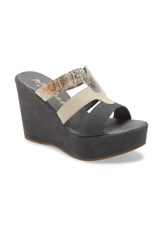 Matisse Gillian Platform Wedge Slide Sandal (Women)