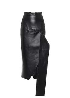 Matériel Tbilisi High-rise faux leather skirt