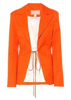 Matériel Tbilisi Wool twill blazer
