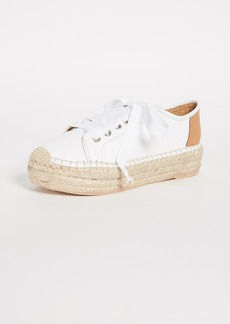 Matt Bernson Eze Leather Espadrille Sneakers