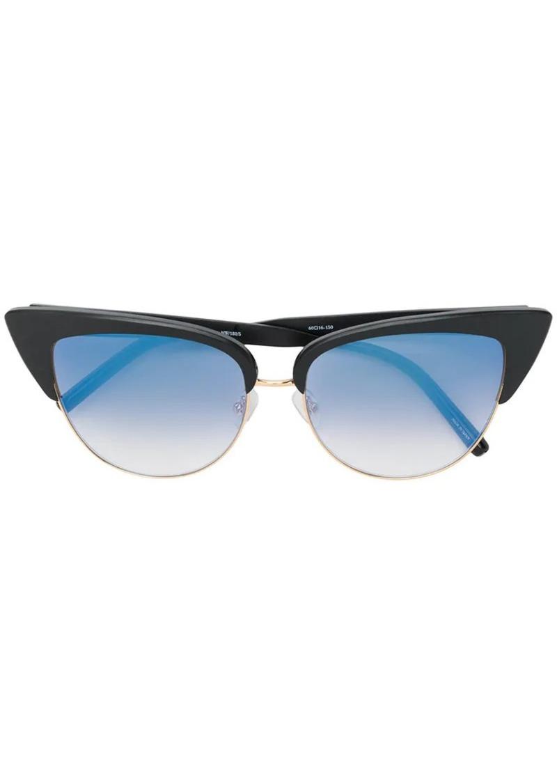 Matthew Williamson exaggerated cat eye sunglasses