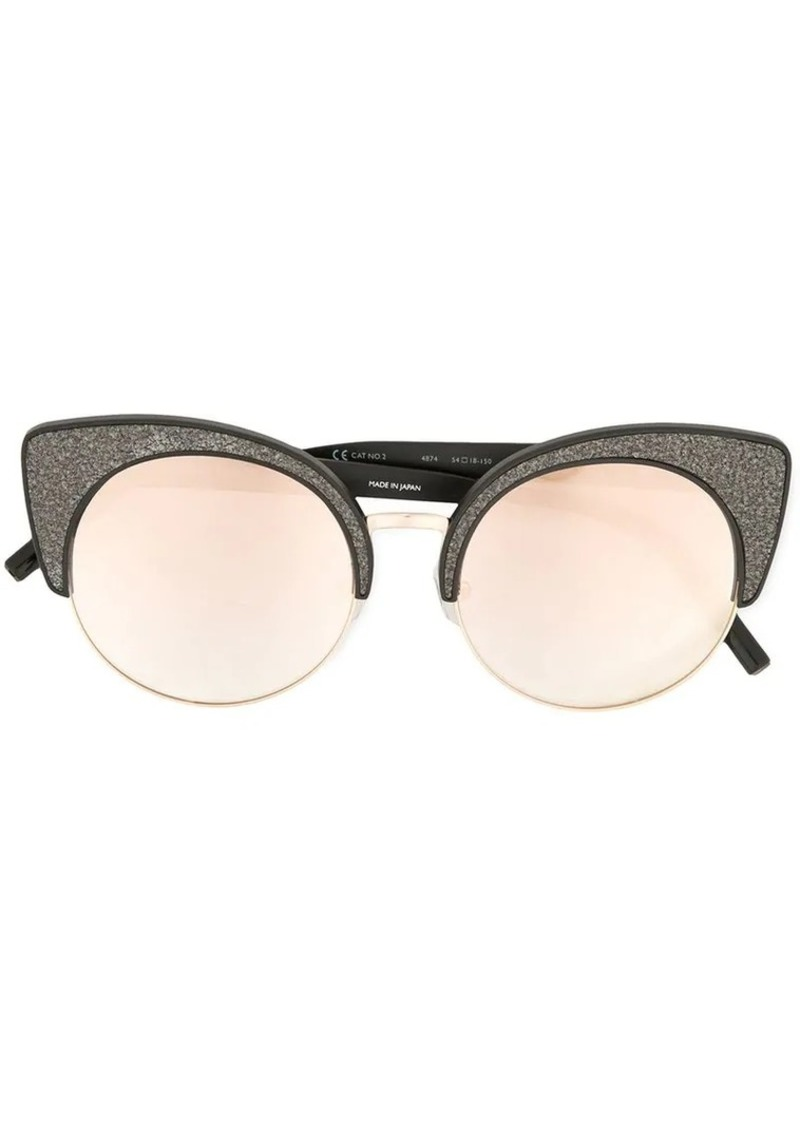 Matthew Williamson glittered cat eye sunglasses